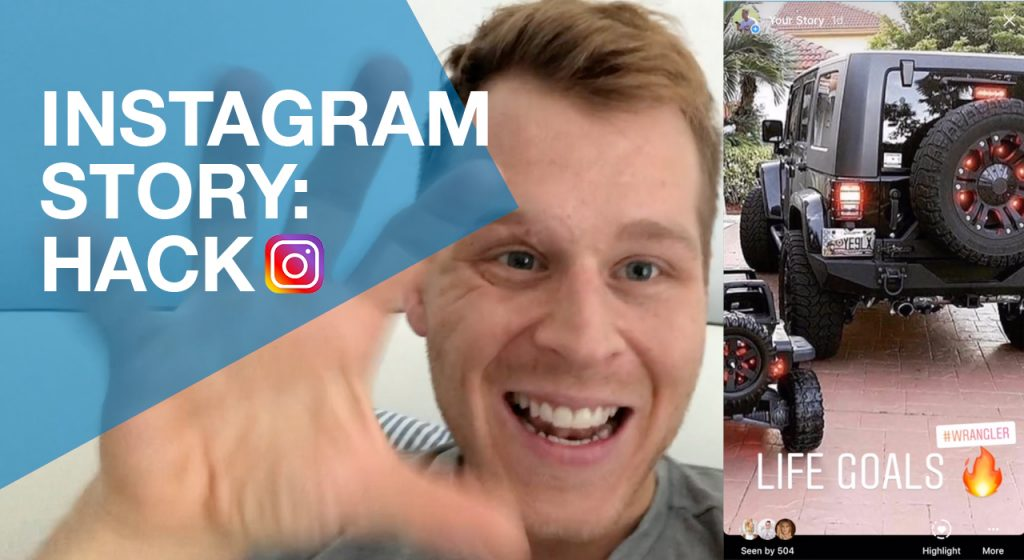 Instagram Story Hack - 50% mehr Story Viewers - Timo Sven Bauer